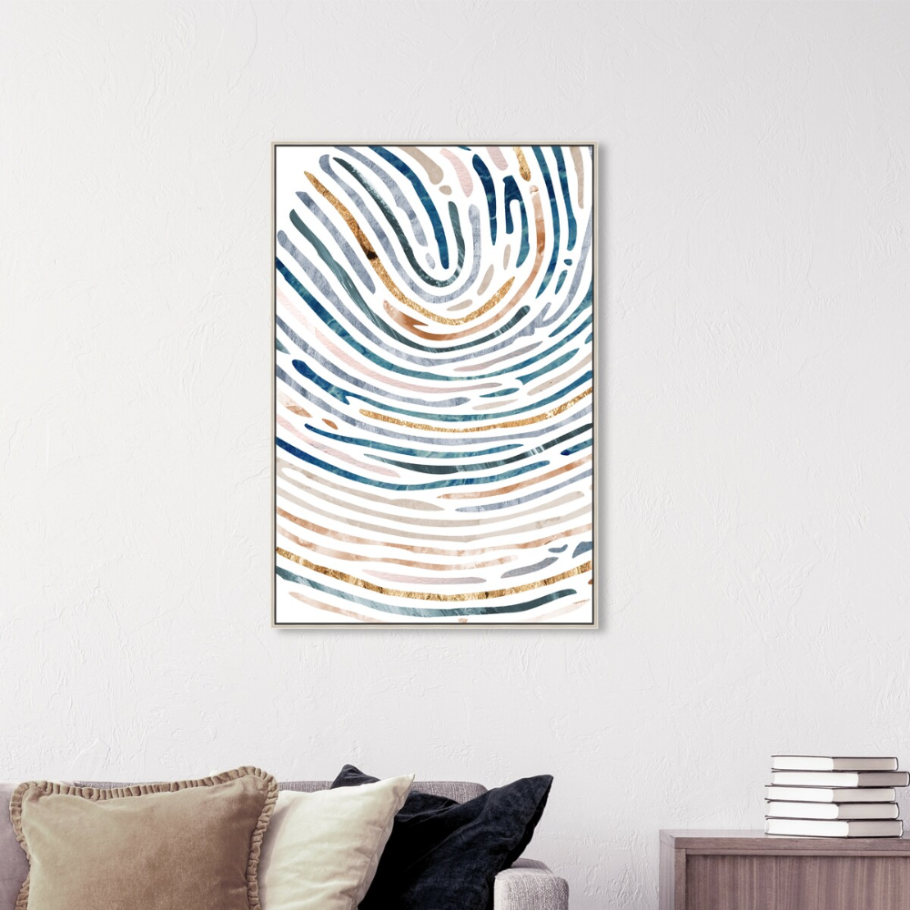 All Paths Abstract Wall Art By Oliver Gal Abstract Wall Art Blue Abstract Tapestry