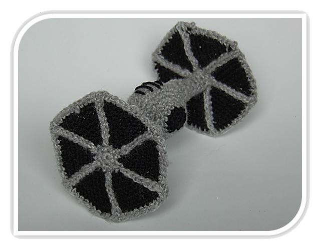 Patrones Amigurumi: Tie Fighter (Nave Star Wars) | crochet randomism ...