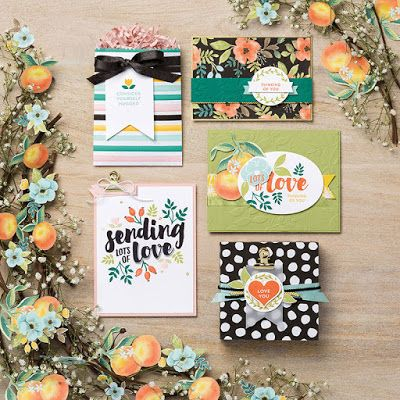 Stamping Serenity: DS Paper Spotlight on Whole Lot of Lovely!