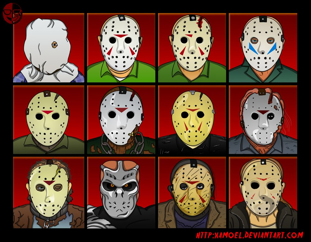 Friday The 13th Jason Voorhees Masks Jason Voorhees Horror Icons Horror Characters