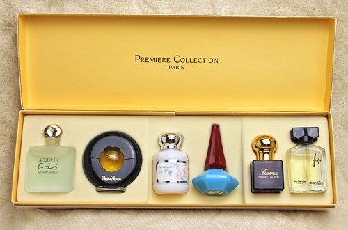 Vintage Premier Collection Paris Perfume Miniature Bottle Collection is in  Original Box and is a collection of Giorgio Armani (Acoua di Gio), Paloma  Picasso ... 5d7c542652