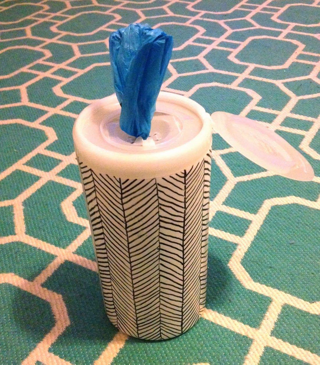 The Surznick Common Room DIY Plastic Bag Dispenser