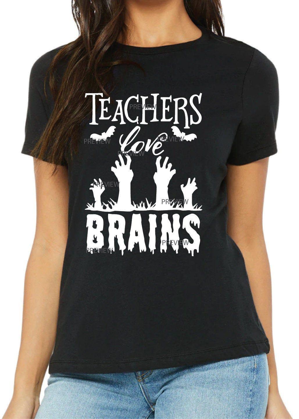 Download Teachers Love Brains SVG File | Fun christmas shirts, Kc ...