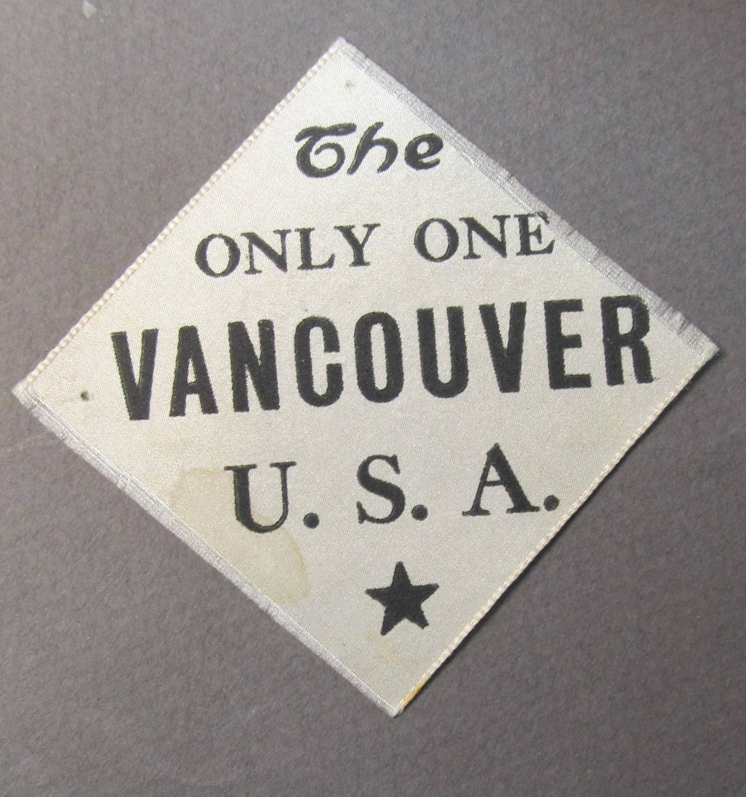 Rare The Only One Vancouver U.s.a.1909 Alaska Yukon Pacific Expo Seattle Ayp