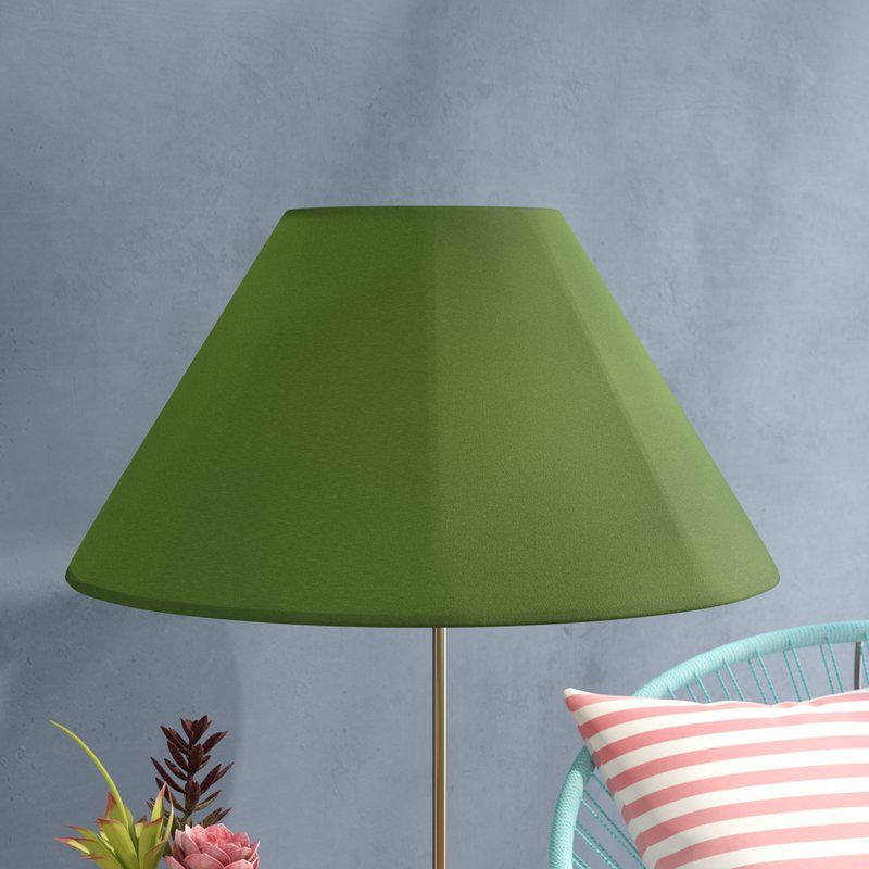 "20"" Sunbrella Empire Lamp Shade (With images) Lamp shade"