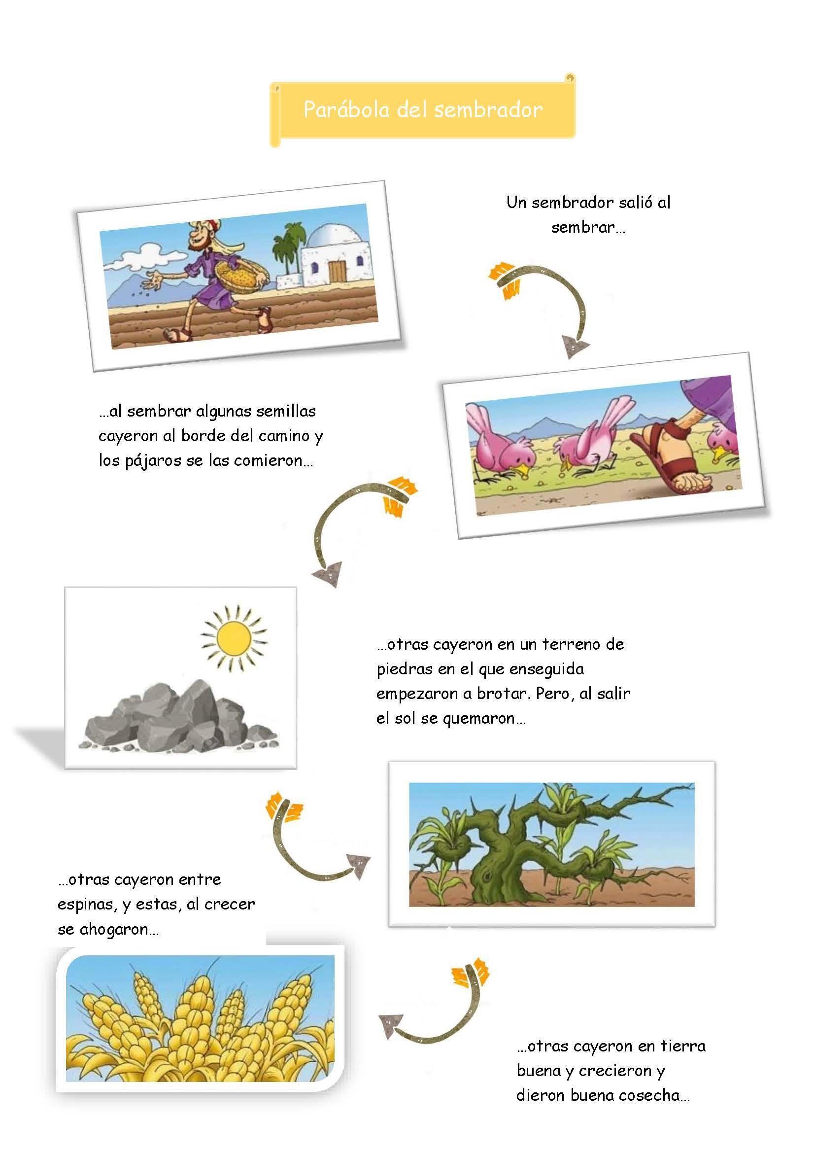 Parábola del sembrador Parabola del sembrador, Parábolas
