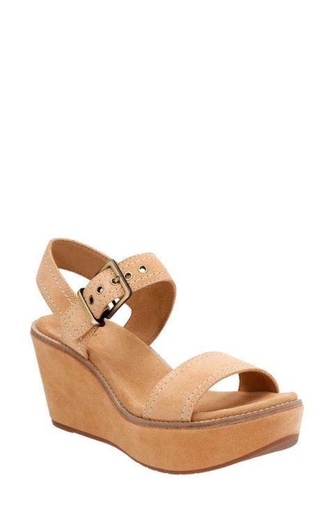 c3a63b3902ec Clarks® Aisley Orchid Wedge Sandal (Women)