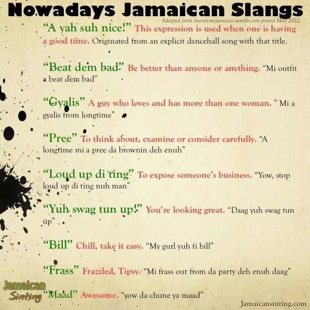 A Good Translation Of Patwa Jamaican Words Slang Proverbs Jamaica