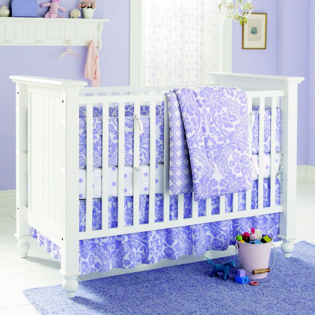 """No VOC Lavender Nursery Wall Paint - """"Naptime"""" from Land of Nod"""