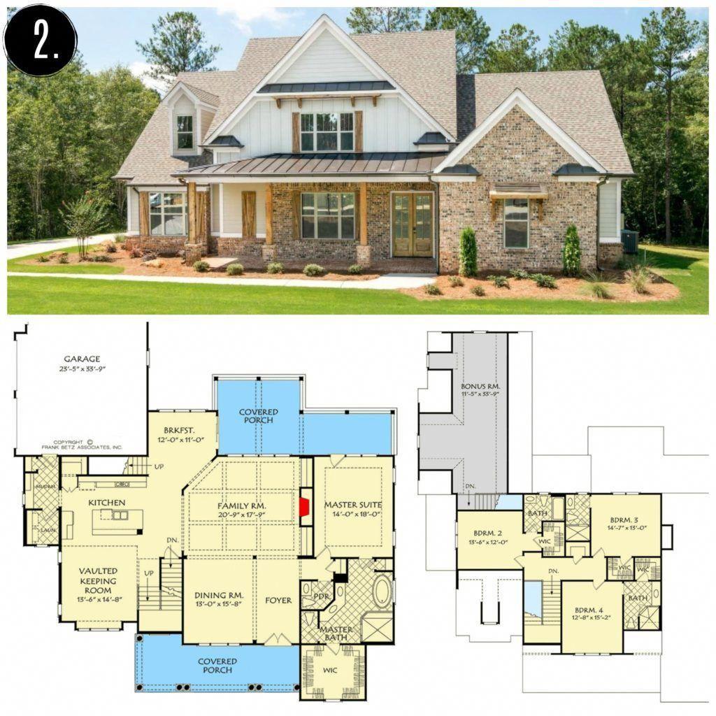 10+ Amazing Modern Farmhouse Floor Plans