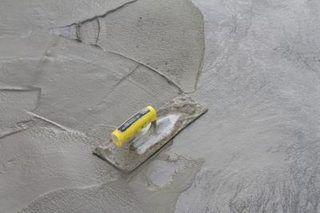 Uneven Old Concrete Floor