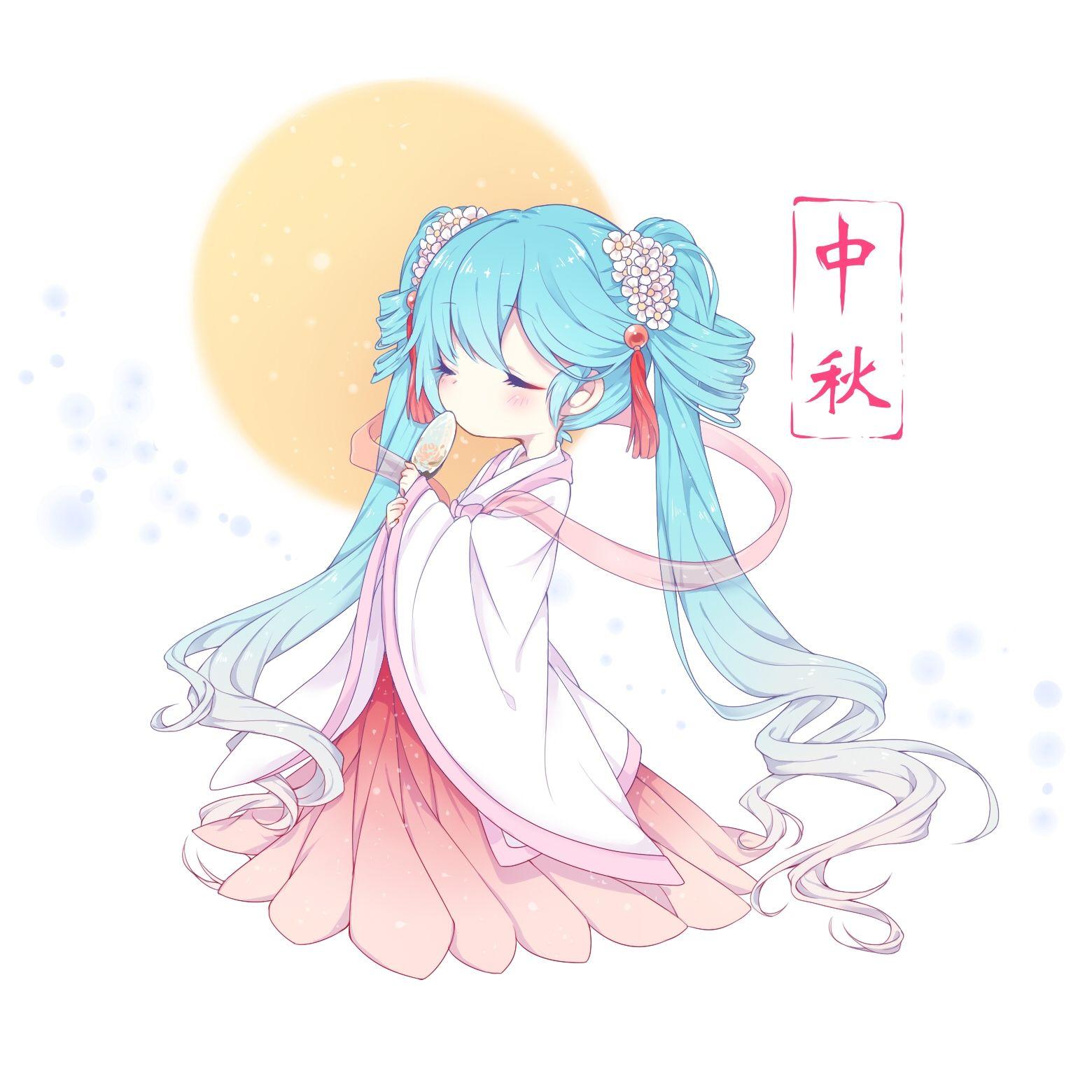 Pin by xonthei rose on miku hatsune miku anime art - Cute anime miku ...