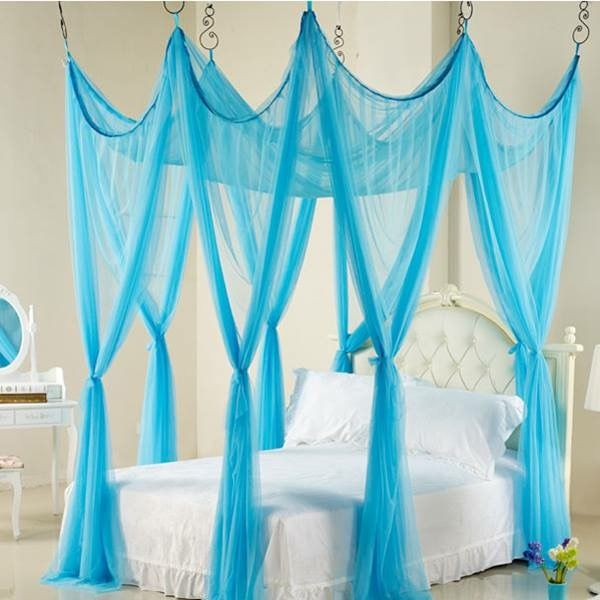 Luxury Princess Bed Netting Canopy Mosquito Net Twin Queen King 10 Colors So romantic! : princess emily canopy bed - memphite.com