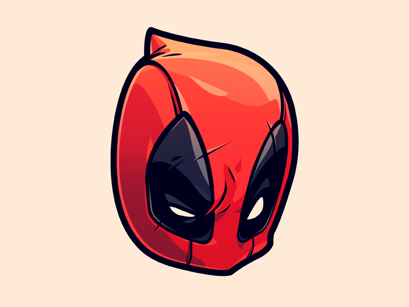 Deadpool sticker deadpool art reference and illustrations