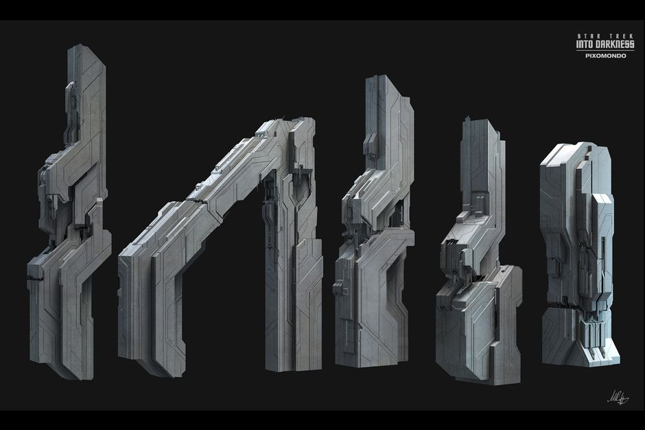 kronos modular buildings concept by Max Riess | Sci-Fi | 3D