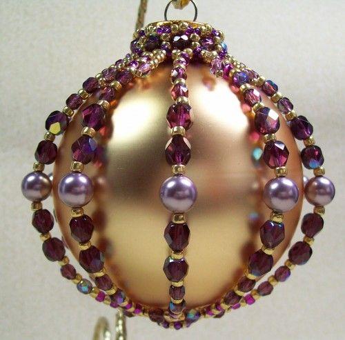 Royale Genie Ornament: Beading Tutorial | CSDDesign - Seasonal on ArtFire