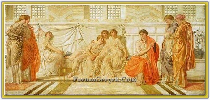 Albert Joseph Moore (1841 - 1893)   İngiliz Ressam - Sayfa 3 - Forum Gerçek