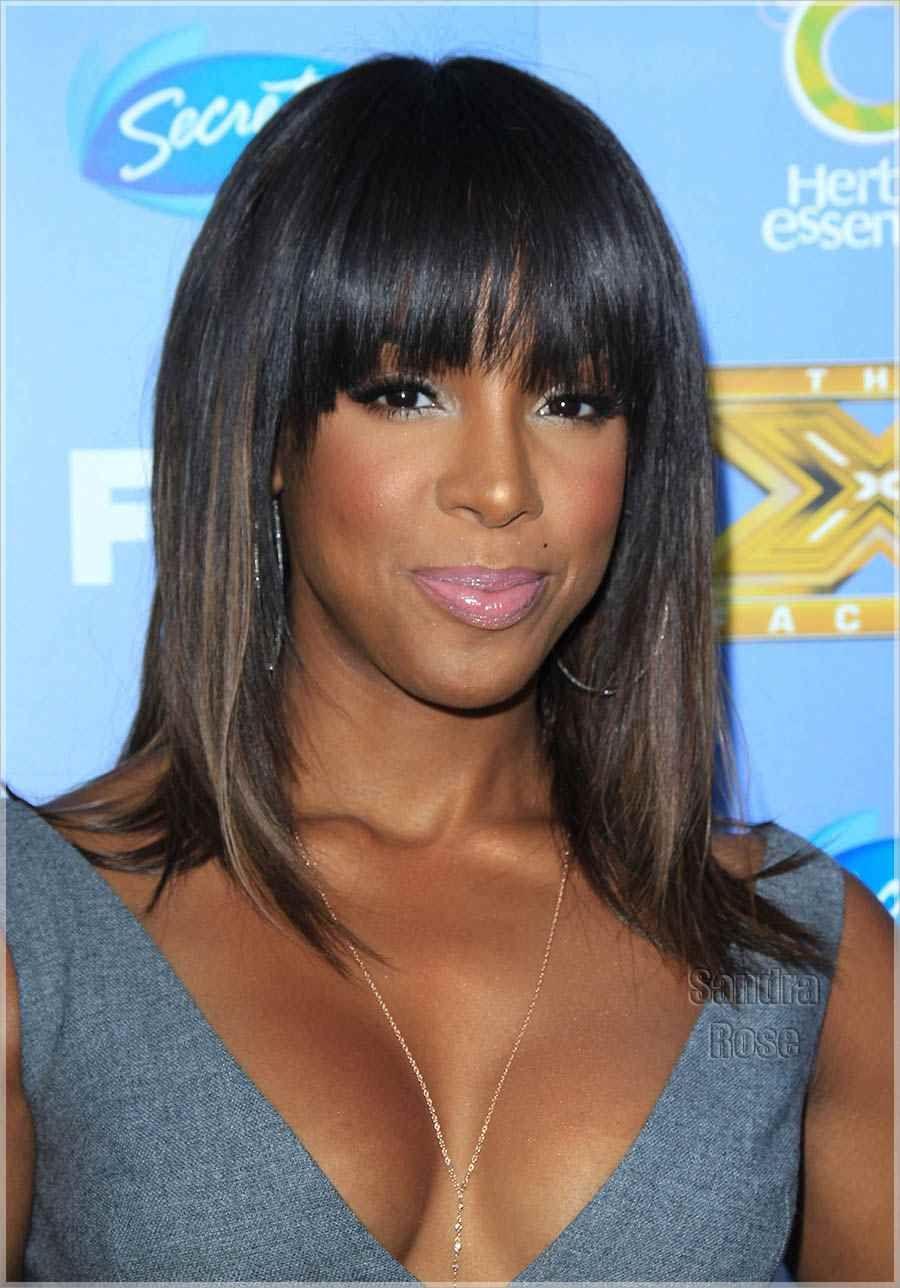 Kelly Rowland Style Me Pretty Hair Styles Black