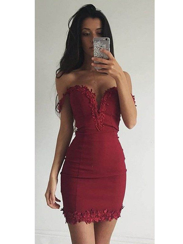 04d75135ab0 2017 Coctail Dress, Sexy Off-the-shoulder Short Prom Dress Party Dress MK584