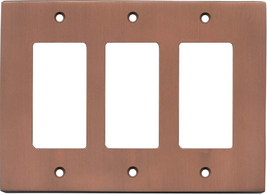 Modern Antique Copper Light Switch Plates Outlet Covers Wallplates
