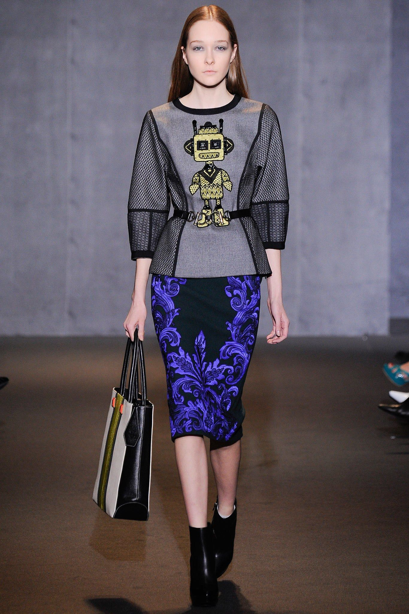 Andrew Gn Fall 2014 Ready-to-Wear Fashion Show