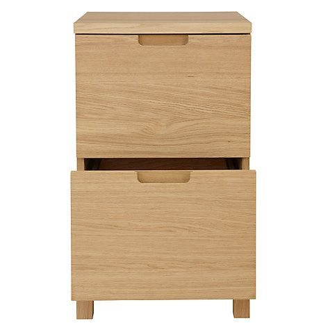 Abacus Narrow Filing Cabinet | Cabinets online and John lewis