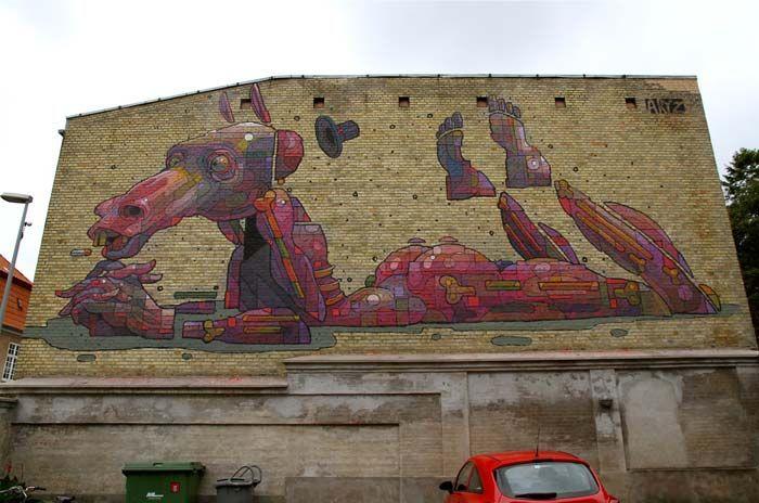 Aryz #rexmonkeyblog #streetart