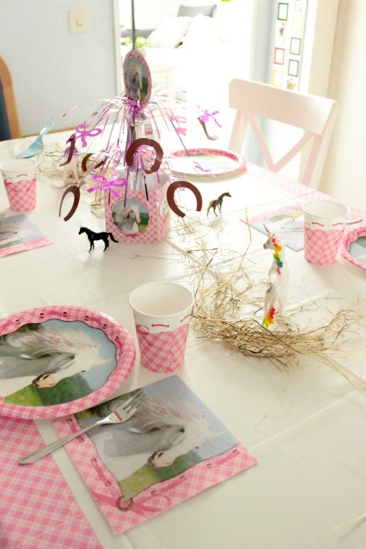 pferde geburtstagsparty ideen f r einen gelungenen kindergeburtstag kidscraft pinterest. Black Bedroom Furniture Sets. Home Design Ideas