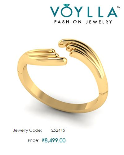 14K Gold Ring Studded With Diamonds For Women Price Rs