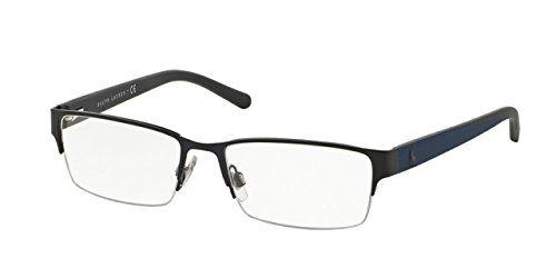 Polo Mens PH1152 Eyeglasses Matte Blue 54mm