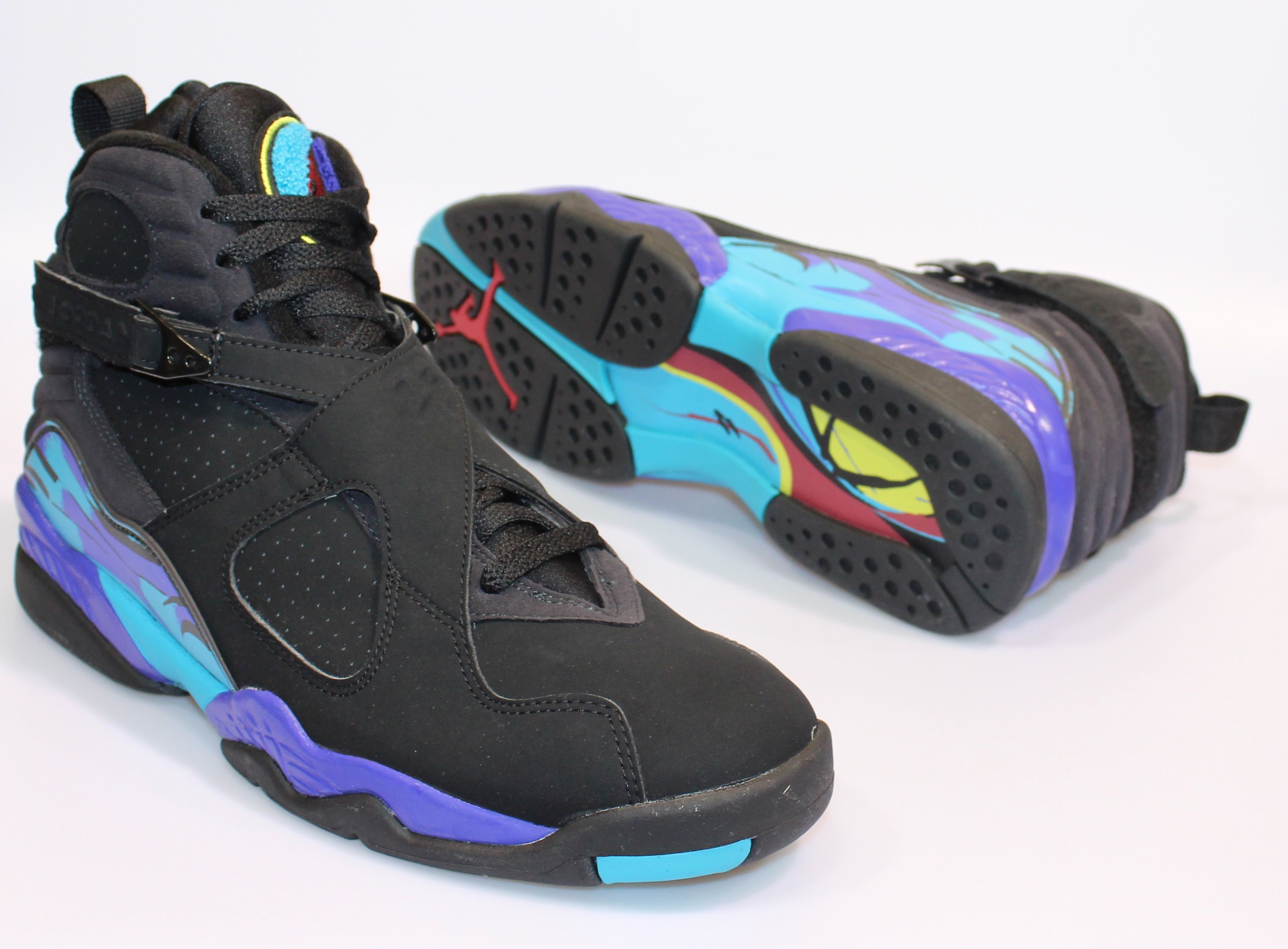 Air Jordan Retro 8 Aqua. They were released in 2007, and sold very well