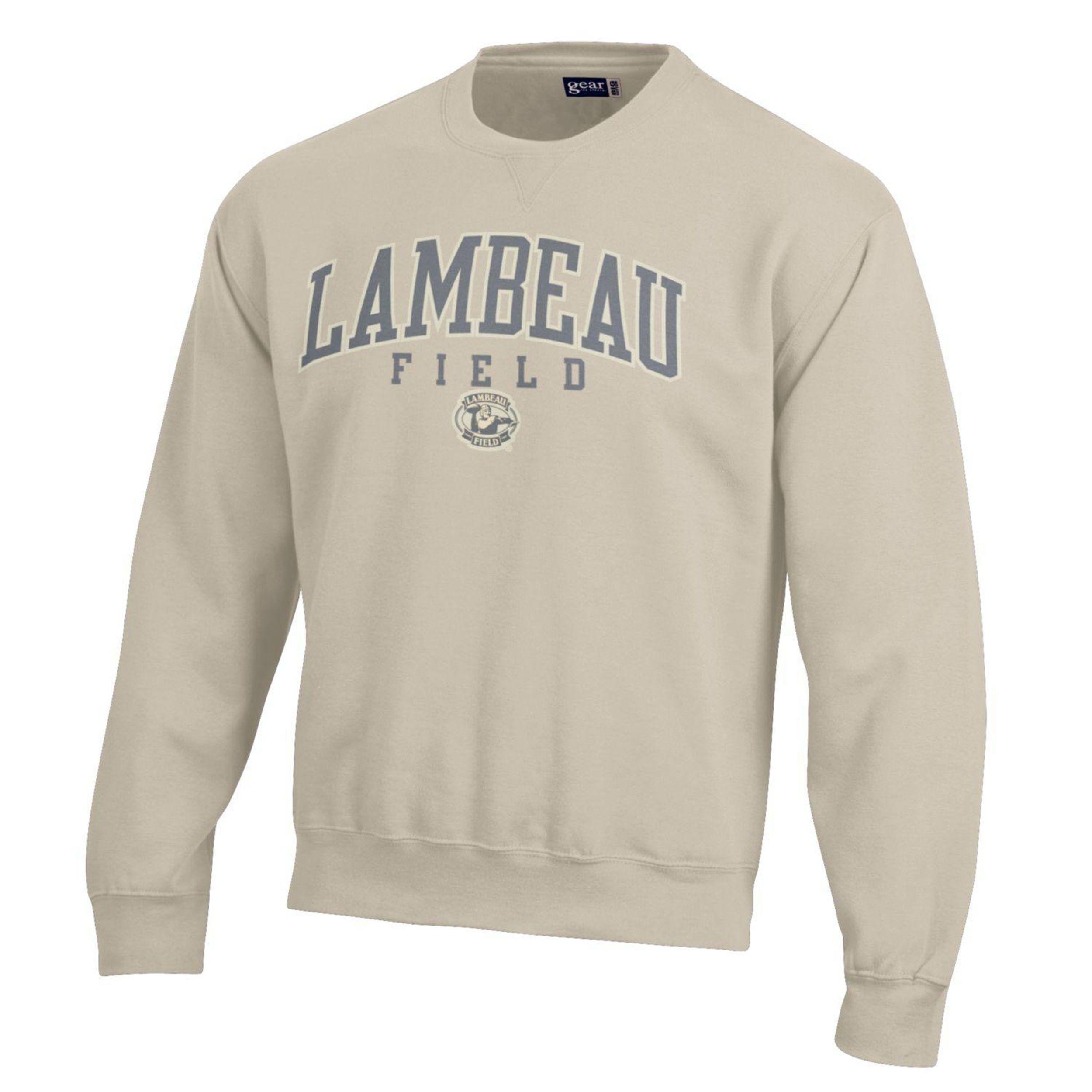 Lambeau Field Big Cotton Fleece Crew Green bay packers