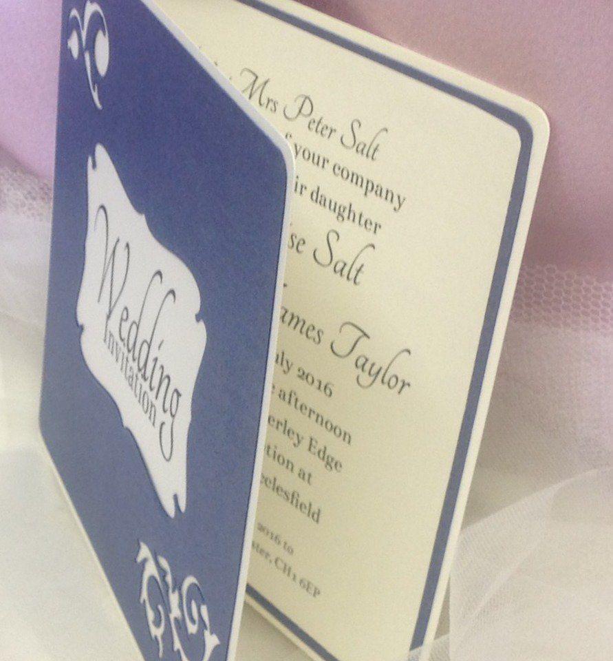 Personalised, handmade wedding invitation. £2.80 Visit http://www ...