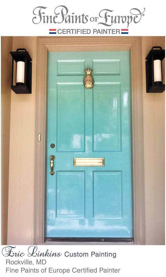 Teal Door Teal Blue Front Door High Gloss Enamel Front Entrance
