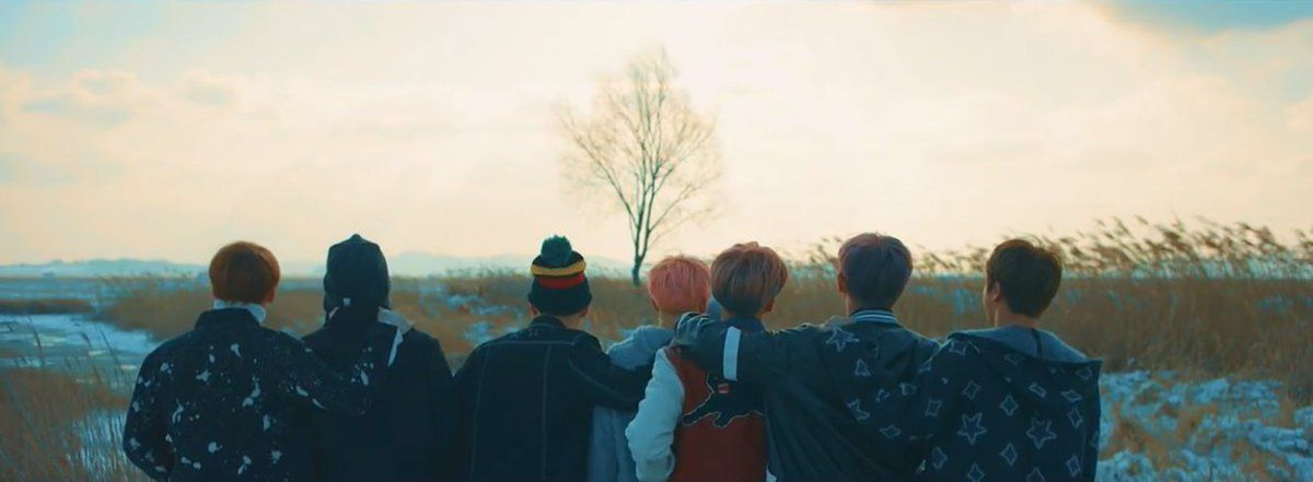 Spring Day Header Bts Bts Spring Day Wallpaper Bts Not Today Bts You Never Walk Alone