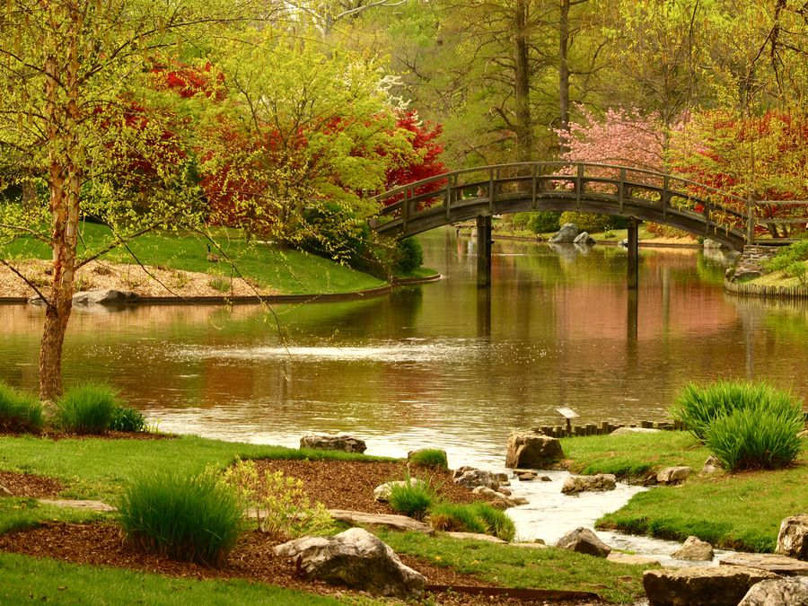 Missouri Botanical Gardens, Japanese Gardens within St