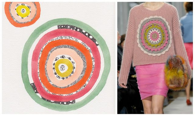 patchwork at Moschino Cheap & Chic fall/12 by way of amateurcouture.com