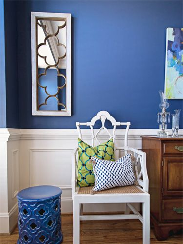 How To Decorate With Blue Blue Home Decor Blue Decor Dining Room Blue