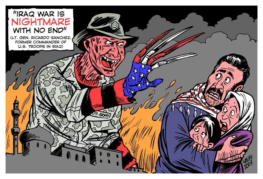 Carlos Latuff cartoons-2007-part 1
