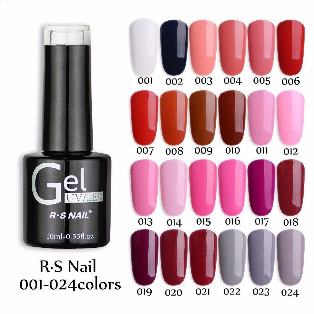Rs Nail Gel1pcs 2015 Rs Nail135 One Step 3 In 1 Gel Uv Soak Off Color Nuovo Arrive Brand Uv Gel Polish Smalto Per Unghie Profesional Nail Polish Uv Led Uv Gel