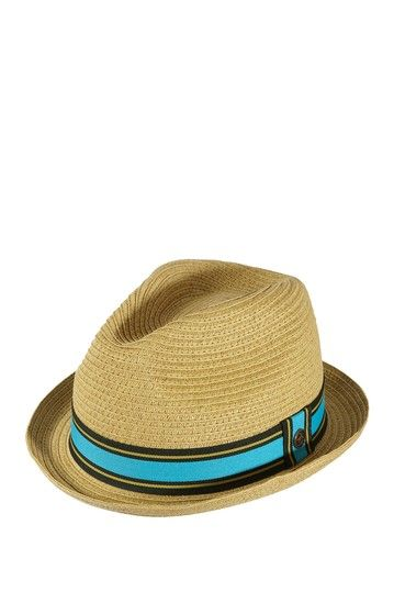 c7ae088fc Braided Straw Pork Pie Fedora Hat by Original Penguin on @HauteLook ...