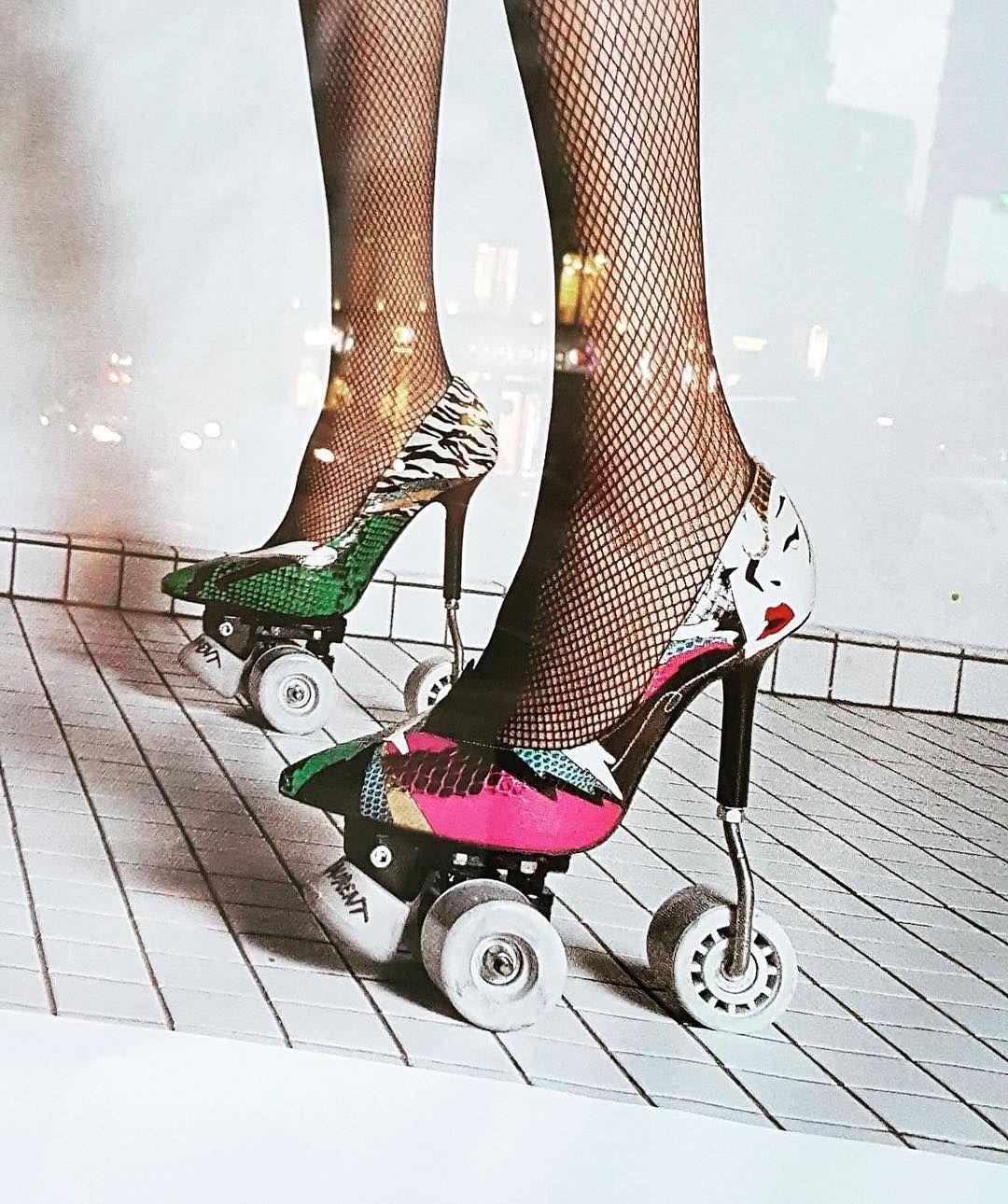 1481e4e04a4 YSL #rollerpumps Yves Saint Laurent, Roller Skating, Roller Derby, Roller  Disco,