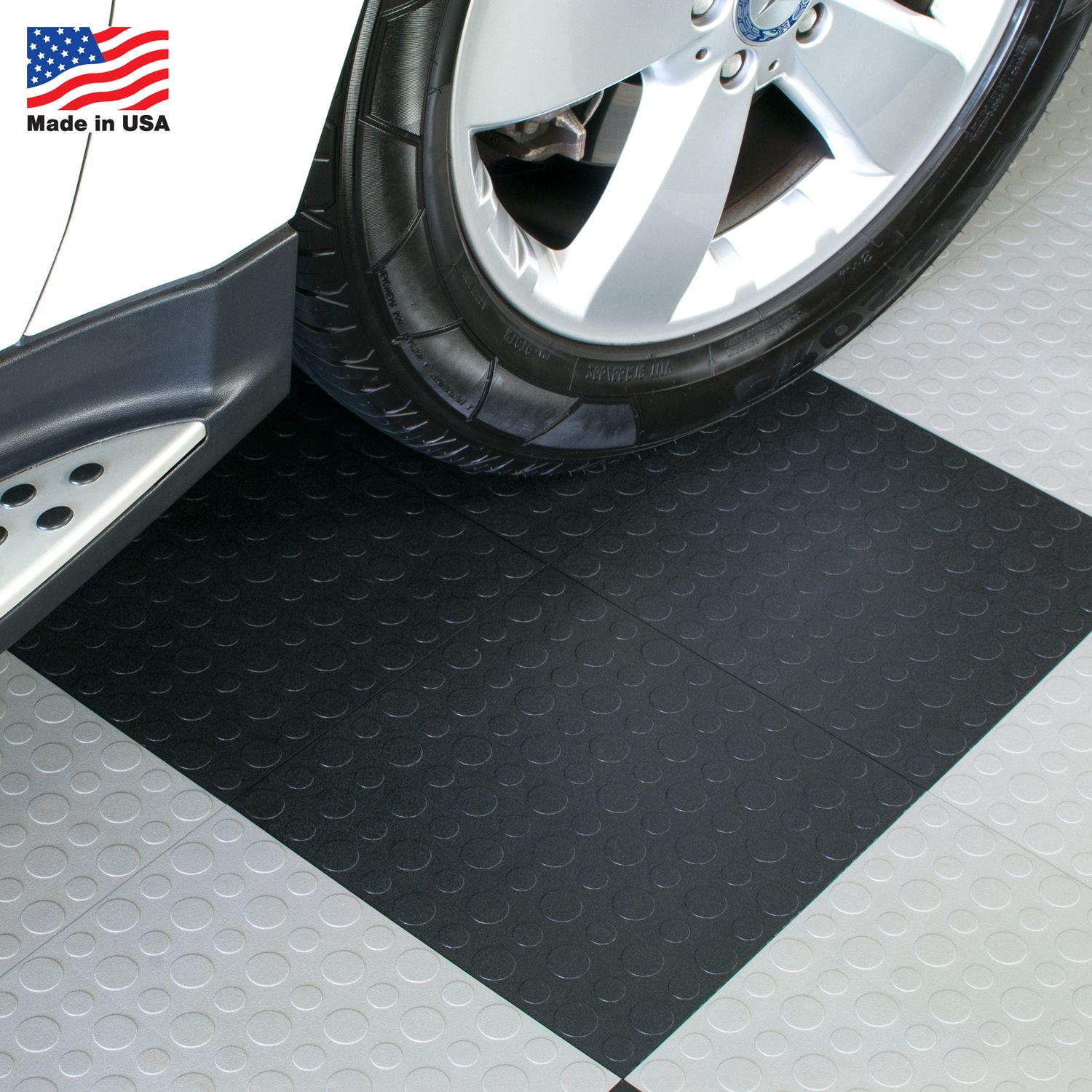 Immediately transform your garage with interlocking floor tiles immediately transform your garage with interlocking floor tiles these durable garage tiles are proudly made doublecrazyfo Gallery