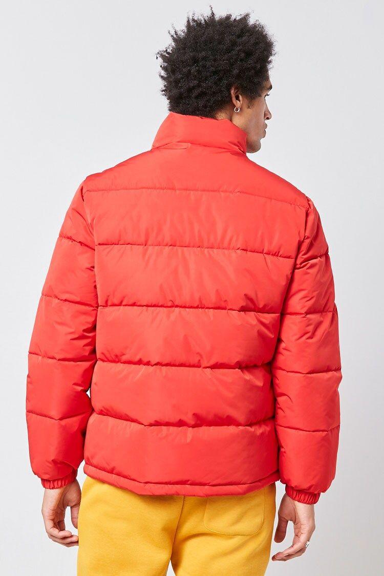 Zip Up Puffer Jacket Forever 21 Jackets Puffer Zip Ups [ 1125 x 750 Pixel ]