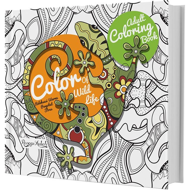 COLORING BOOK COLOR OF WILD LIFE