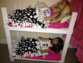 American Girl doll bed project   Moms Miami Blogs