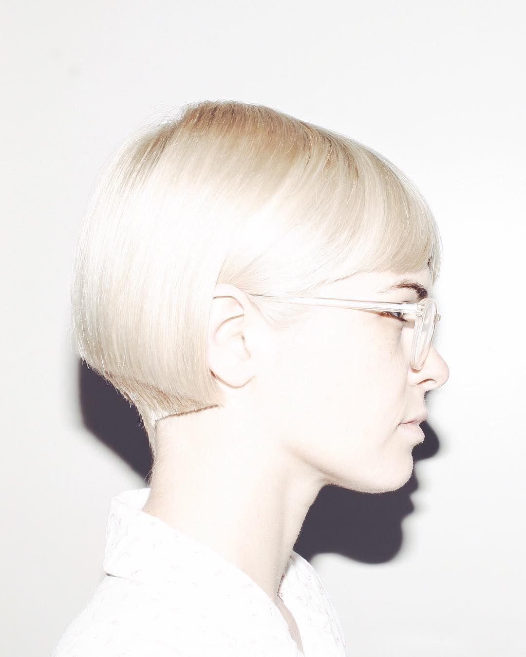 blond bob haircut idea for girls | Short Hairstyles for Women ...