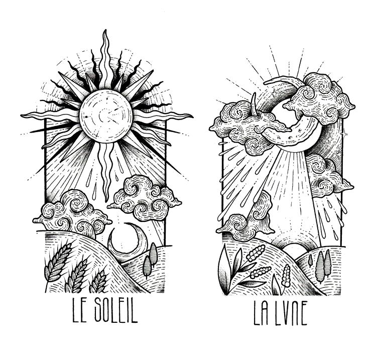 LE SOLEIL - LA LUNE - #La #le #LUNE #soleil -   LE SOLEIL - |