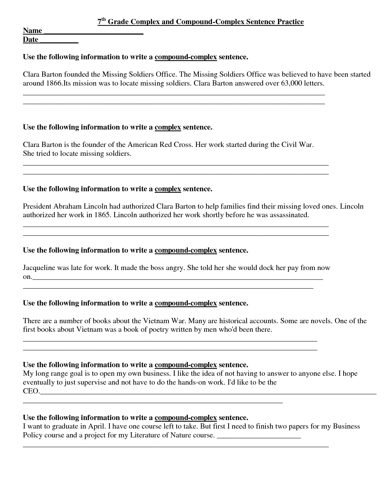 worksheet Seventh Grade Science Worksheets free 4th grade reading comprehension passages and questions 36 weeks printable pdf worksheets to