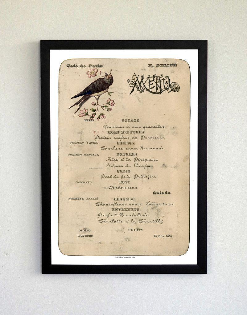 Café de Paris, 1888, Argentina, Cool Culinaria Classic